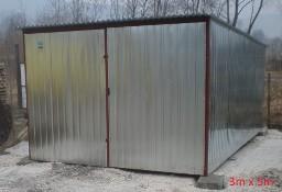 Garaż blaszany, wiaty, hale, konstrukcja stalowa.