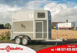 99.247 Nowim Przyczepa do transportu koni zwierząt bydła byków krów konia końska koniara koniowóz Humbaur