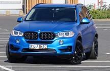 BMW X5 F15 40d 313 Luxury Fotele Sport Pamięć DVD 4xKlima