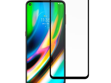 Szkło Ochronne Pełne Full Glue do Motorola Moto G8-1