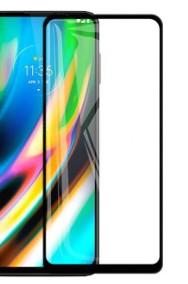 Szkło Ochronne Pełne Full Glue do Motorola Moto G8-2
