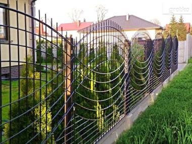 Przęsło ogrodzeniowe wzór łuku fi 5mm 130x240cm oc+kolor P-01-1