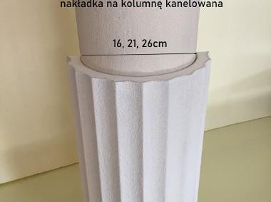 nakładka styropianowa kanelowana na kolumnę, słup 16, 21, 26 cm-1