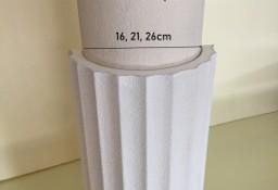 nakładka styropianowa kanelowana na kolumnę, słup 16, 21, 26 cm