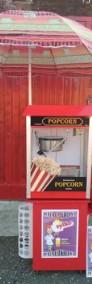 Zestaw maszyn do waty cukrowej i popcornu, Wata cukrowa + Popcorn, ATEST-3