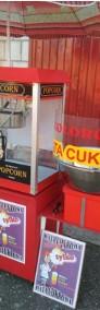 Zestaw maszyn do waty cukrowej i popcornu, Wata cukrowa + Popcorn, ATEST-4
