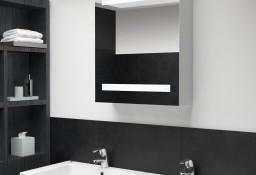 vidaXL Szafka łazienkowa z lustrem i LED, 50 x 14 x 60 cm285115