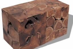 vidaXL Taborety / Stolik kawowy z solidnego drewna tekowego274355
