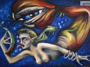 Sprzedam obrazy olejne - surrealizm-1