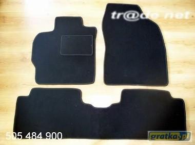 Toyota Auris od 02.2007 do 2012 r. 3i5 drzwi najwyższej jakości dywaniki samochodowe z grubego weluru z gumą od spodu, dedykowane Toyota Auris-1