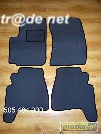 Daewoo Musso 1998-2002 najwyższej jakości dywaniki samochodowe z grubego weluru z gumą od spodu, dedykowane Daewoo Musso