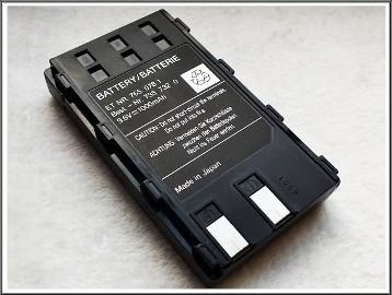 Oryginalna bateria do kamery VHS moc 9,6V pojemność 1000mAh