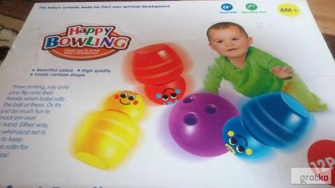 kręgle dla dzieci 10 szt. z 2 piłkami NOWE