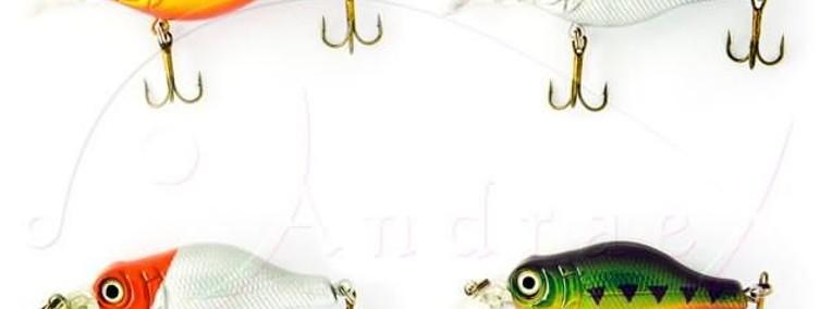 Woblery SPRO B.B.Crankbait 5cm waga 7g zest. 4 szt. (3)-1