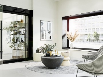 luksusowy apartament Stare Miasto Poznań - 91 m2