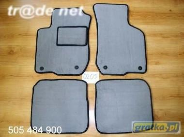 AUDI A3 1996-2003 najwyższej jakości dywaniki samochodowe z grubego weluru z gumą od spodu, dedykowane Audi A3-1