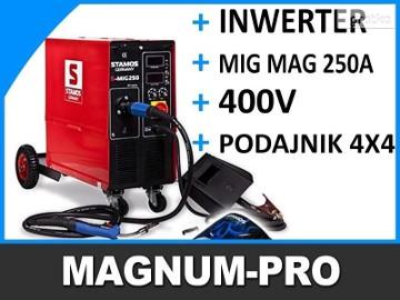 Migomat 250A 4x4 MIG MAG spawarka półautomat 400V