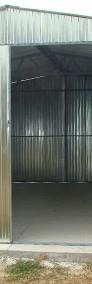 Garaż blaszany wzmocniony hala wiata 5x5 blacha kolor-3