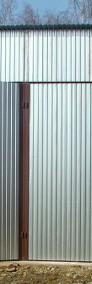 Garaż blaszany wzmocniony hala wiata 5x5 blacha kolor-4