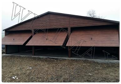 Garaże blaszane, wiaty, hale, konstrukcje stalowe