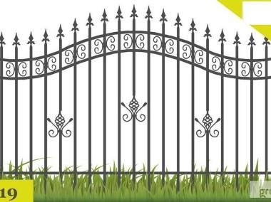 Przęsło ogrodzeniowe elegancki wzór P19-1