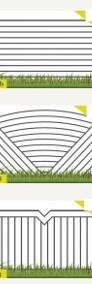 Przęsło ogrodzeniowe elegancki wzór P19-4
