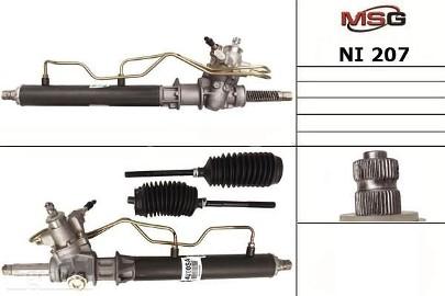 Przekładnia kierownicza ze wspomaganiem hydraulicznym Nissan Maxima NI207