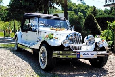 RETRO kabriolet do wypożyczenia na wesele Zabytkowe limuzyny na ślub Wypożyczalnia luksusowych samochodów Auto do ślubu