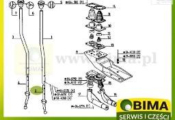 Wybierak lewarka biegów używany części do traktorów Renault 110-14,