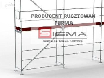 Rusztowania 110m2 już od 3999 zł netto Producent Rusztowań Firma SIGMA