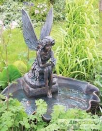 "Fontanna ogrodowa ""Motyl strażnik ogrodu"" 80cm"