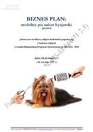BIZNESPLAN mobilny psi salon fryzjerski (przykład)