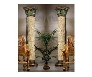 kolumny ozdobne jak w Luksorze