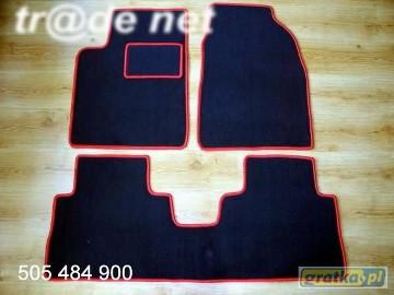 Chevrolet Captiva od 2005r. najwyższej jakości dywaniki samochodowe z grubego weluru z gumą od spodu, dedykowane Chevrolet Captiva