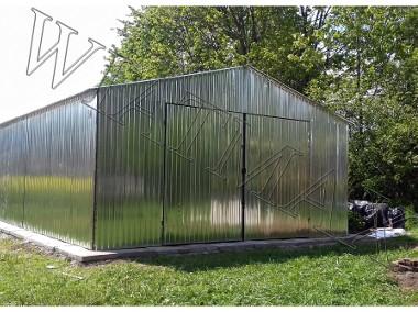 Garaże blaszane, wiaty, hale, konstrukcje stalowe-1