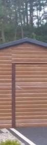 Garaże blaszane, wiaty, hale, konstrukcje stalowe-3