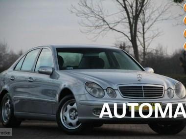 Mercedes-Benz Klasa E W211 Zarejestrowany*Serwis*Automat*Alufelgi-1
