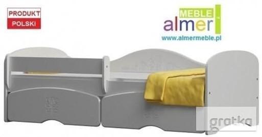 MAGIC 23SB łóżko dla dzieci + SZUFLADY + MATERAC