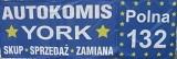 """F.H.U Jarosław Urbański Auto-Komis """"YORK"""" logo"""